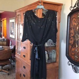 Jessica Howard Black Cocktail Dress